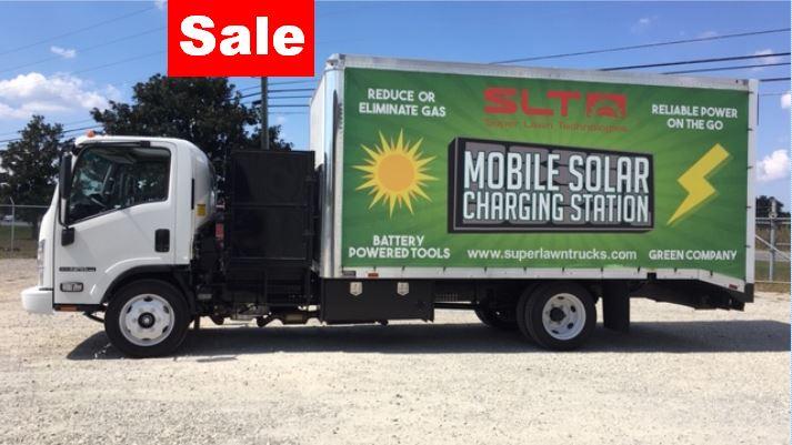 2018 Isuzu FE404 Solar Lawn Truck | Used Super Lawn Trucks